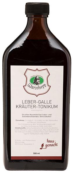 Wurzelsepps Leber-Galle-Tonikum 500 ml - Shop des Kräuter + ...