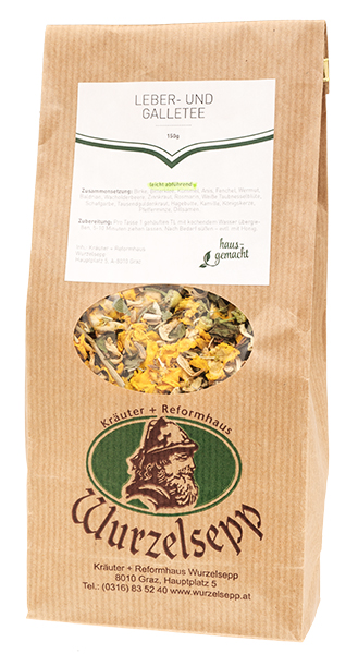 Wurzelsepps Leber-Galle-Tee leicht abführend 150 g - Shop des ...